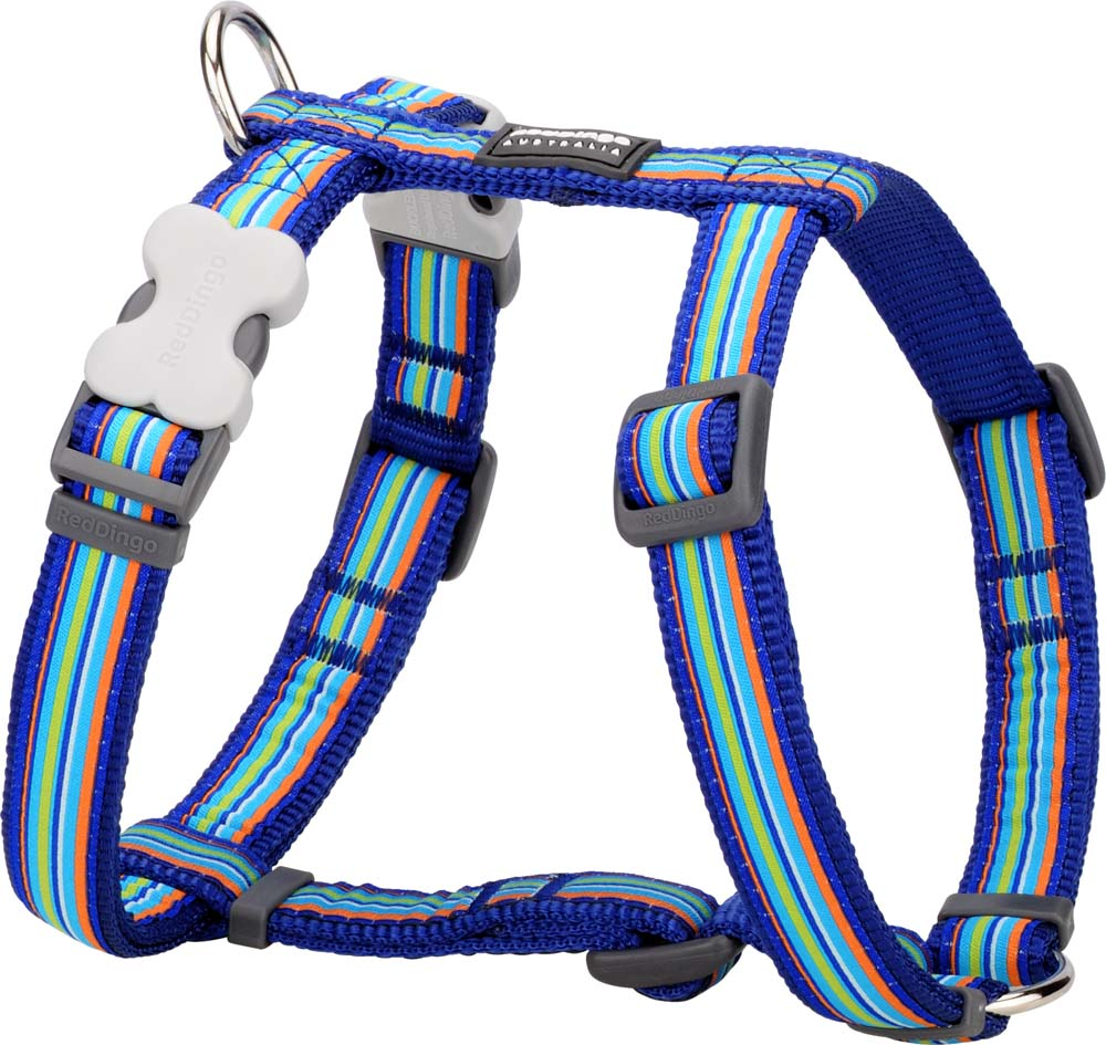 Red Dingo Striped Harness, Animals & Pet Supplies by Dogs Dogs Dogs