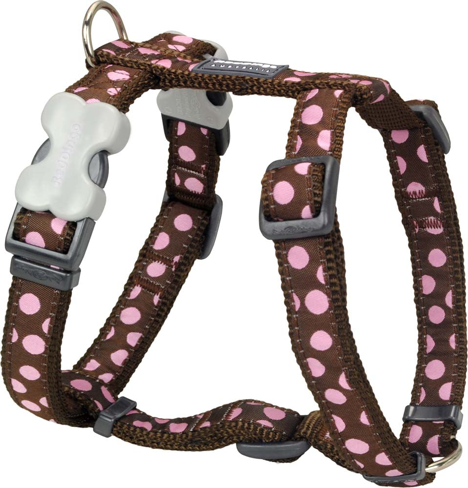 Red Dingo Polka Dot Harness, Pet Supplies by Dogs Dogs Dogs