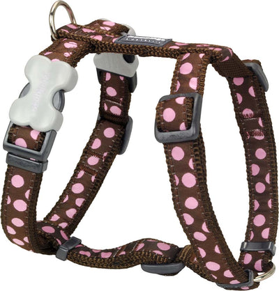 Red Dingo Polka Dot Harness
