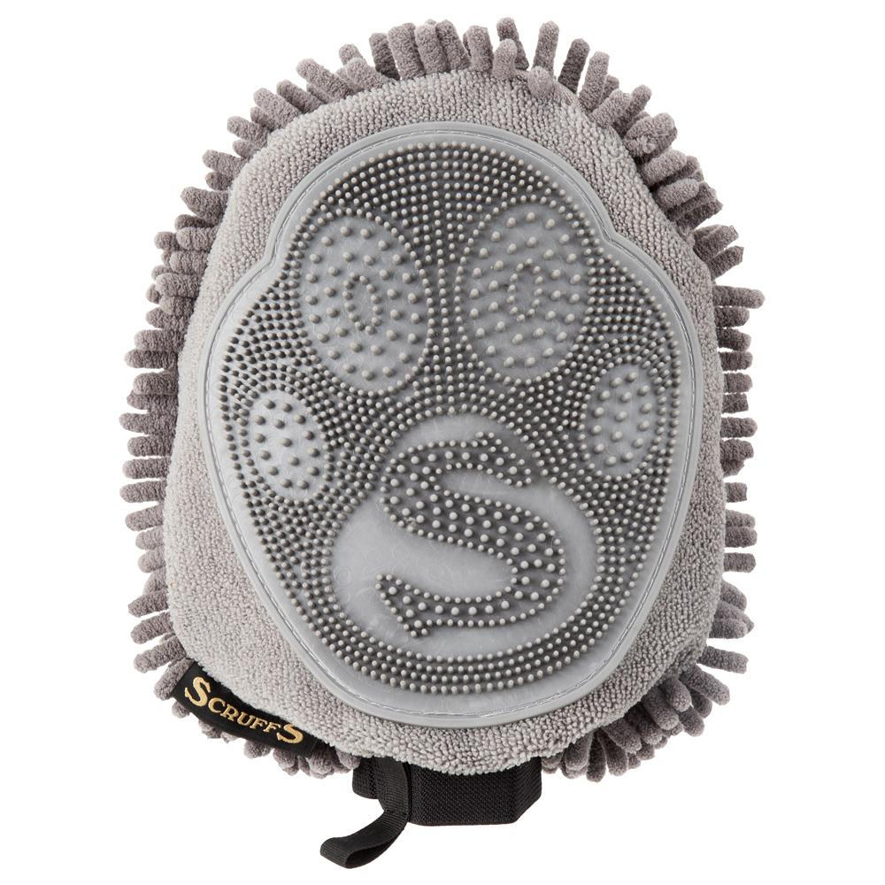 Noodle Dry Mitt - Grey by  Dogs Dogs Dogs