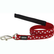 Red Dingo Stars Dog Lead
