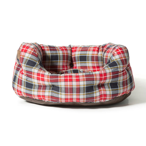 Lumberjack Red Grey Deluxe Slumber Bed
