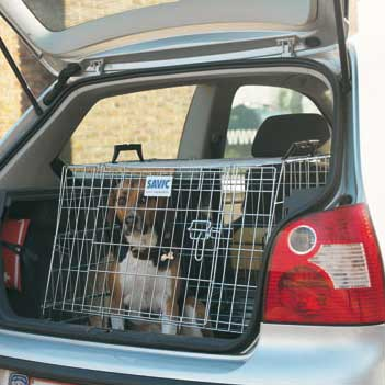 Savic Residence Wide Car Crate, Pet Carriers & Crates by Dogs Dogs Dogs