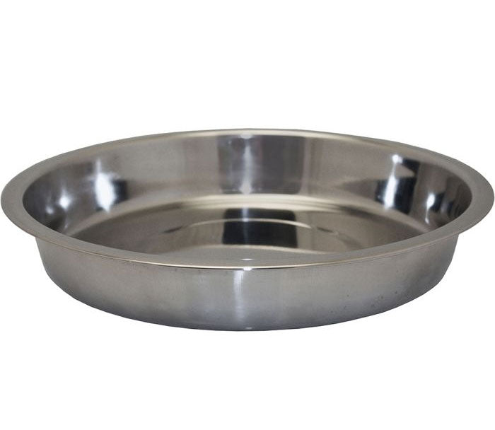 Stainless Steel Shallow Puppy Pan, Dog Toys by Dogs Dogs Dogs