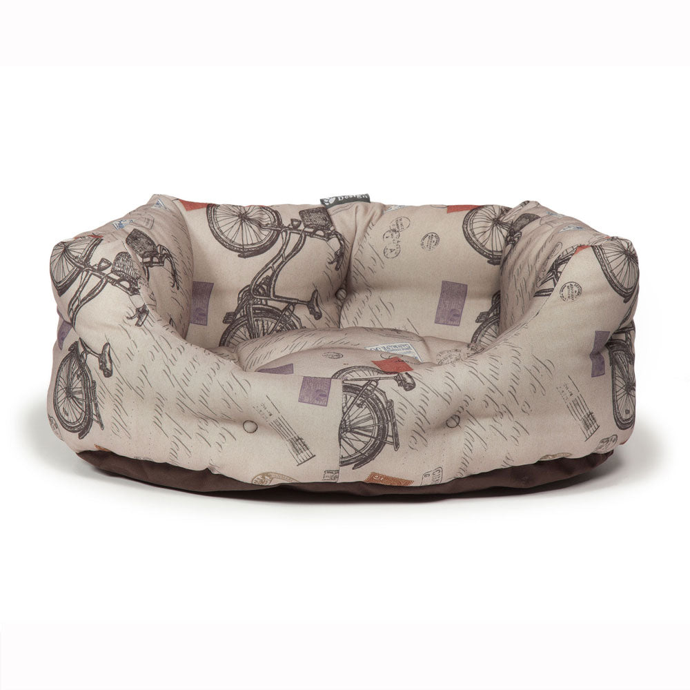 Danish Design Vintage Bicycles Deluxe Slumber Bed, Dog Beds by Dogs Dogs Dogs
