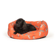 Woodland Hares Deluxe Slumber Bed with Dog