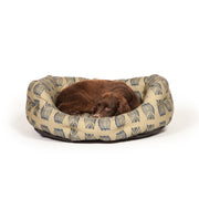 Woodland Owl Deluxe Slumber Bed with Dog