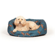Woodland Stag Deluxe Slumber Bed with Dog