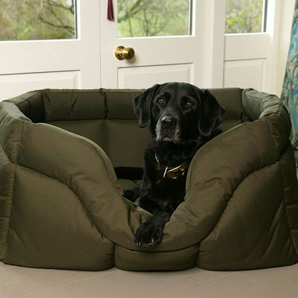 Country Dog Heavy Duty Rectangular Dog Bed by Dogs Dogs Dogs