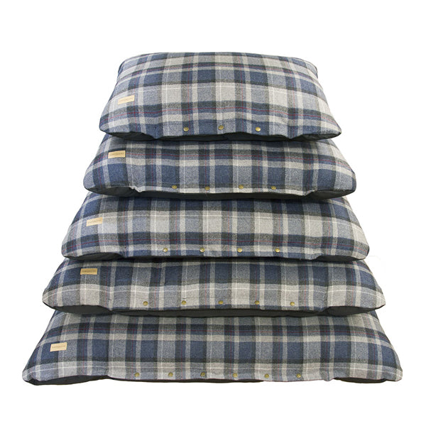 Earthbound Luxury Tweed Check Mattress, Dog Beds by Dogs Dogs Dogs
