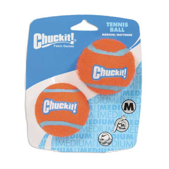 Chuckit Tennis Balls - Two Pack, Dog Supplies by Dogs Dogs Dogs