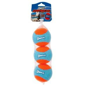 Chuckit Amphibious Balls (3 Pack) by  Dogs Dogs Dogs
