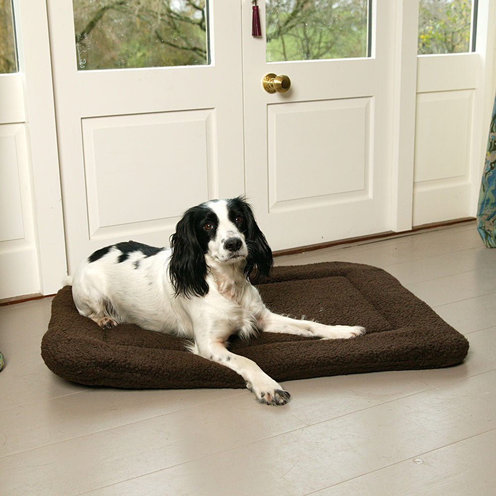 Pets & Leisure Premium Fleece Crate Pad by  Dogs Dogs Dogs