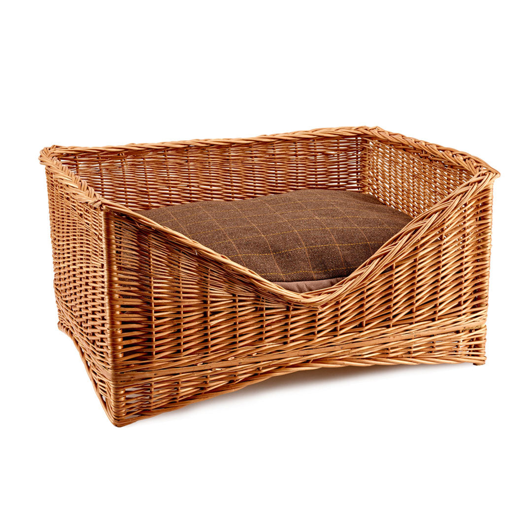 Gadsby Luxury Wicker Dog Bed, Dog Beds by Dogs Dogs Dogs