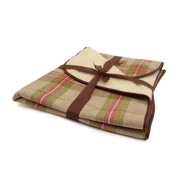 Danish Design Newton Moss Throw, Dog Beds by Dogs Dogs Dogs