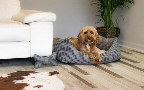 Ralph and Co Tweed Dog Bed - Henley Nest