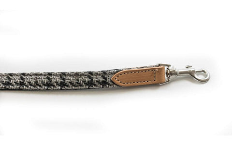 Ralph and Co Tweed & Leather Dog Lead - Henley