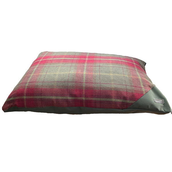 Hem and Boo Luxury Country Check Olive Deep Filled Mattress, Dog Beds by Dogs Dogs Dogs