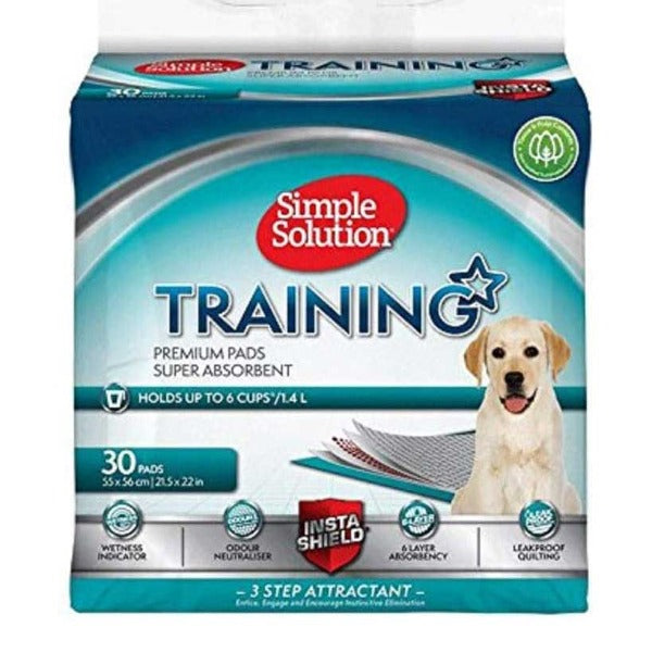 Simple Solution Puppy Training Pads, Dog Supplies by Dogs Dogs Dogs