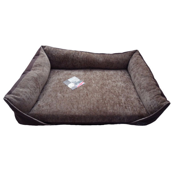 Hem and Boo Sofa Bed - Brown, Dog Beds by Dogs Dogs Dogs