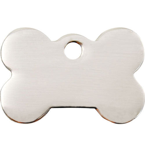 Red Dingo Stainless Steel Bone Dog Tag, Pet ID Tags by Dogs Dogs Dogs