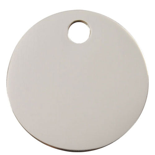Red Dingo Stainless Steel Circle Dog Tag, Animals & Pet Supplies by Dogs Dogs Dogs