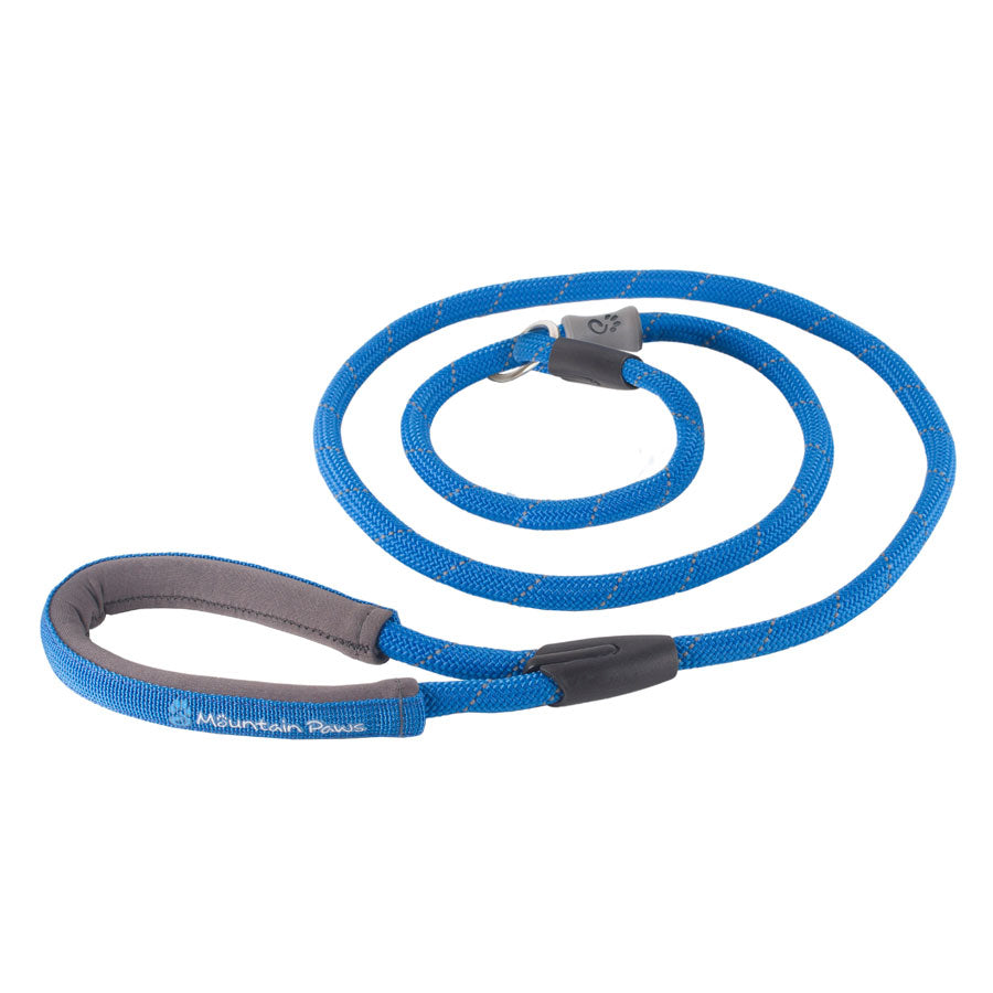 Mountain Paws slip lead with Neoprene Handle by  Dogs Dogs Dogs