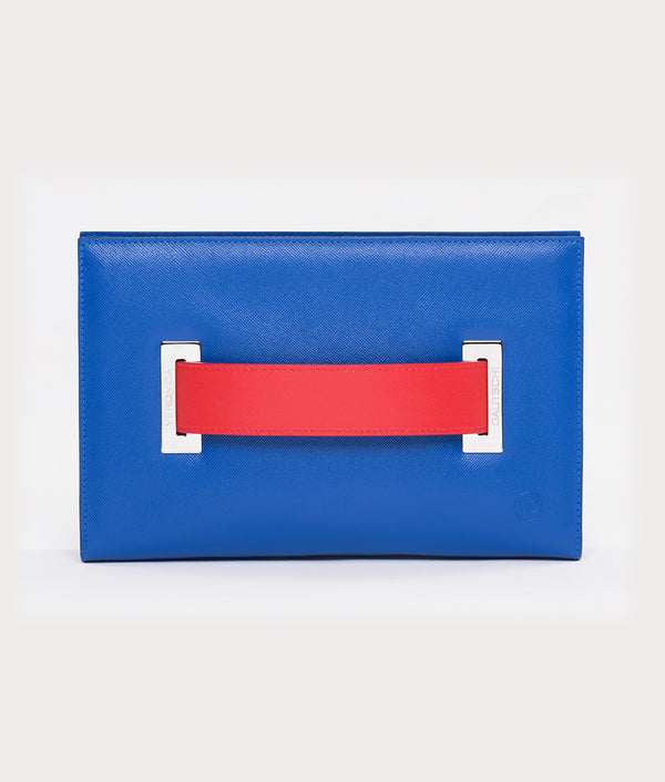 The Clutch Blue Mykonos - Red Passion
