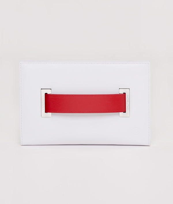 The Clutch Pure White - Red Passion