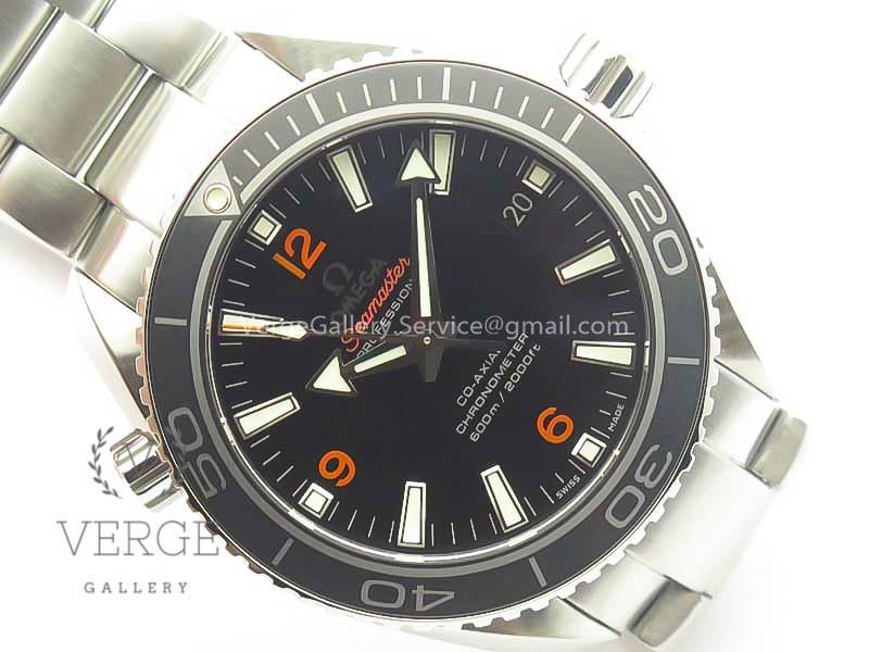 PLANET OCEAN PROFESSIONAL CERAMIC BEZEL ORANGE MARKERS VSF