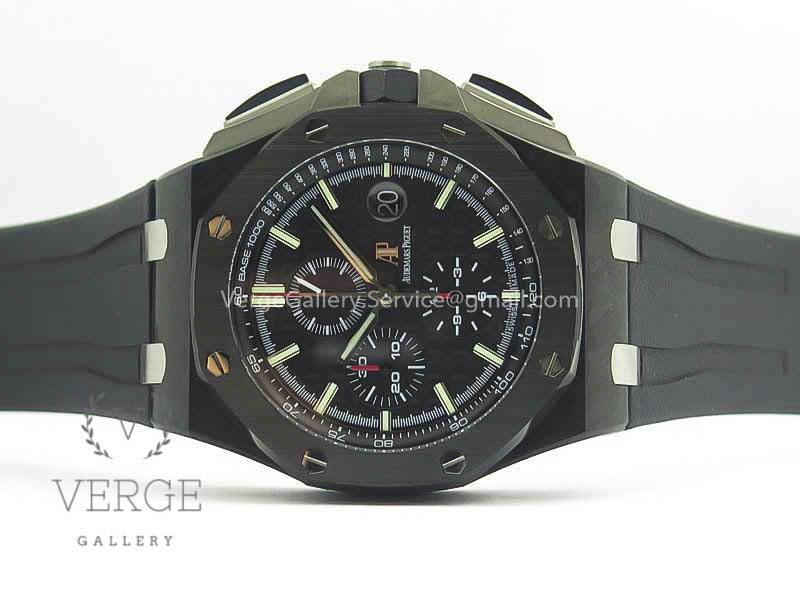 ROYAL OAK OFFSHORE 44MM FORGED CARBON W/ CYCLOPS AND DW MOD V2 JF