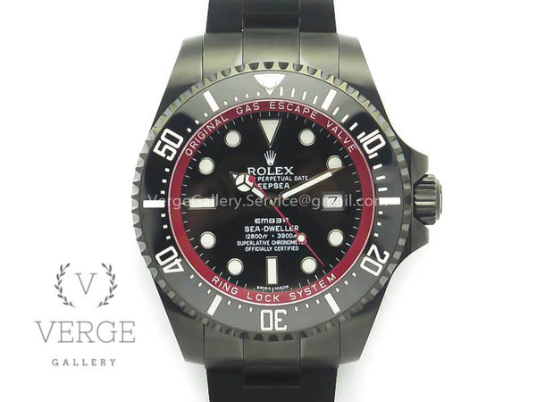 SEA-DWELLER 116660 BAMFORD PVD BLACK DIAL ON SS BRACELET VRF