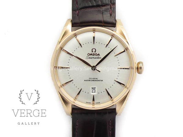 SEAMASTER EDIZIONE VENEZIA RG WHITE DIAL ON LEATHER STRAP