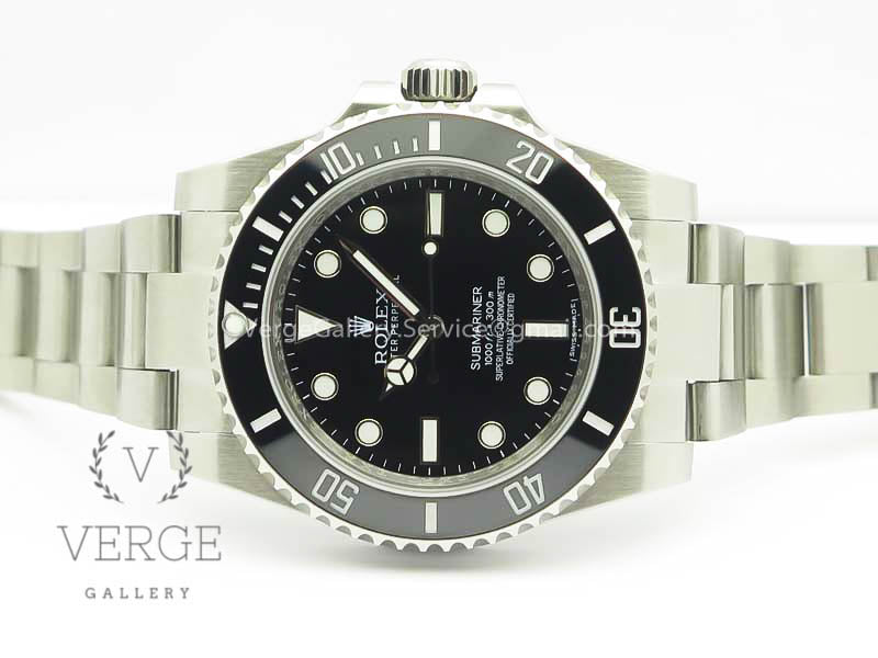 SUBMARINER 114060 NO DATE BLACK CERAMIC V8 NOOB