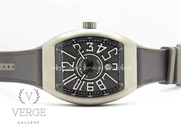 VANGUARD V45 TI GRAY DIAL ON GRAY GUMMY STRAP TF