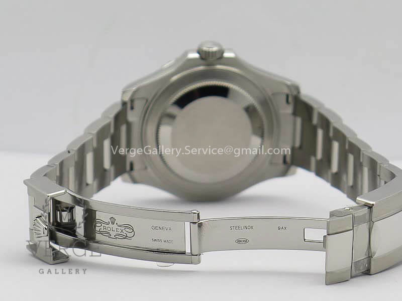 YACHT-MASTER RHODIUM 37MM/40MM 268622 GRAY DIAL 904L SS CASE AND BRACELET ARF