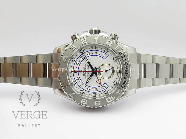 YACHTMASTER II 116689 SS WHITE DIAL ON SS BRACELET