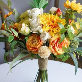 Sunshine and Grace Bridal Bouquet