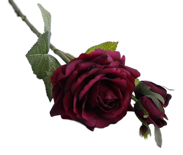 Artificial Rose StemBurgundyFlorals For Less cheap artificial fake flowers online