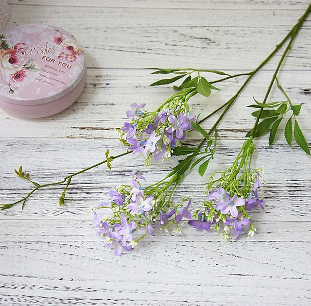 Artificial Jasmine Flower  - 2 SpraysPurpleFlorals For Less cheap artificial fake flowers online