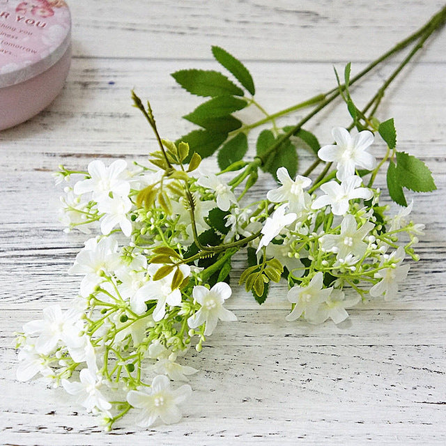 Artificial Jasmine Flower  - 2 SpraysWhiteFlorals For Less cheap artificial fake flowers online