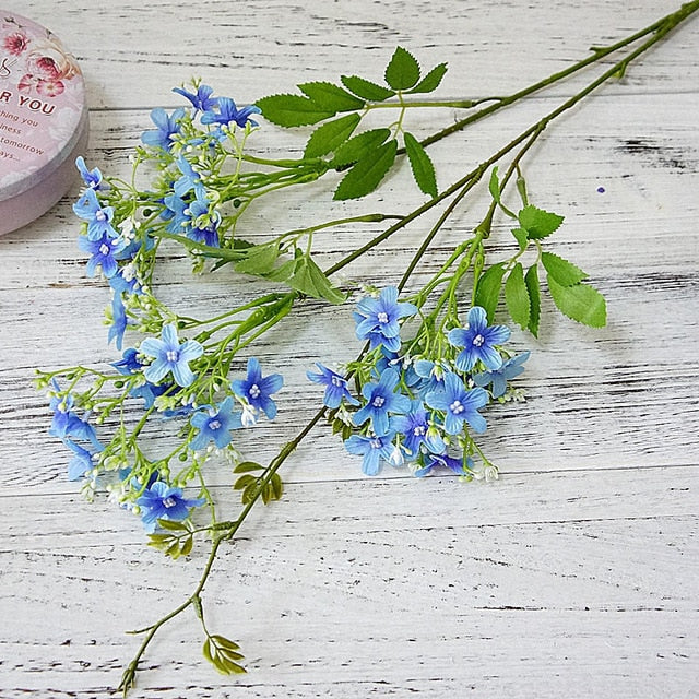 Artificial Jasmine Flower  - 2 SpraysBlueFlorals For Less cheap artificial fake flowers online