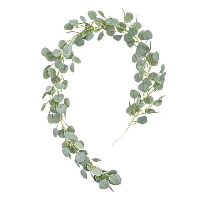 Artificial Sage Green Eucalyptus GarlandDefault TitleFlorals For Less cheap artificial fake flowers online