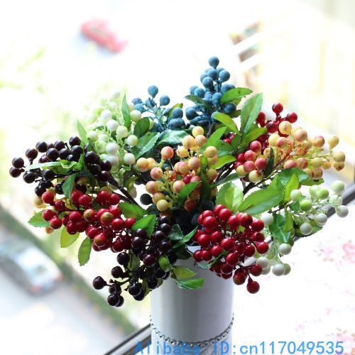 Artificial Berries SprayFlorals For Less cheap artificial fake flowers online