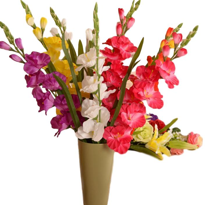Artificial Gladiolus StemFlorals For Less cheap artificial fake flowers online