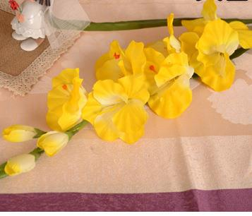 Artificial Gladiolus StemGoldFlorals For Less cheap artificial fake flowers online