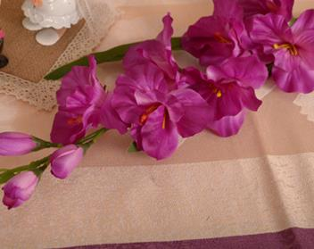 Artificial Gladiolus StemPurpleFlorals For Less cheap artificial fake flowers online