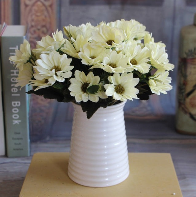 Artificial Daisy SprayIvoryFlorals For Less cheap artificial fake flowers online