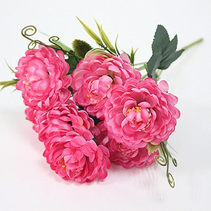 Small Chrysanthemum SprayPinkFlorals For Less cheap artificial fake flowers online