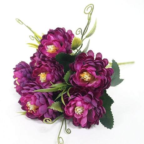 Small Chrysanthemum SprayPurpleFlorals For Less cheap artificial fake flowers online